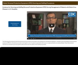 Équipement de protection individuelle (EPI) Enfilage Procédures